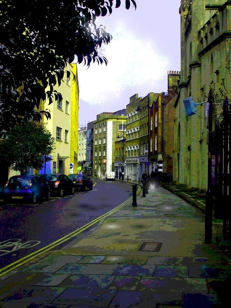 Bermondsey, London, ebook, Grail, magic, street