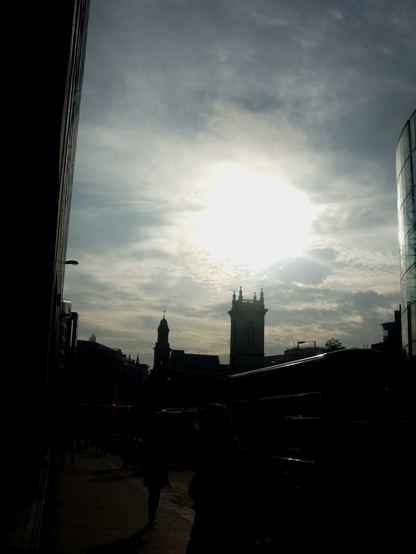 London, dawn, work, walk, Holborn