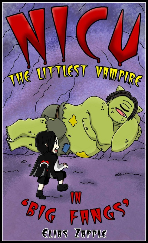 Reimarie Cabalu, Elias Zapple, Ogre, vampire, bats, sibling rivalry, bullying