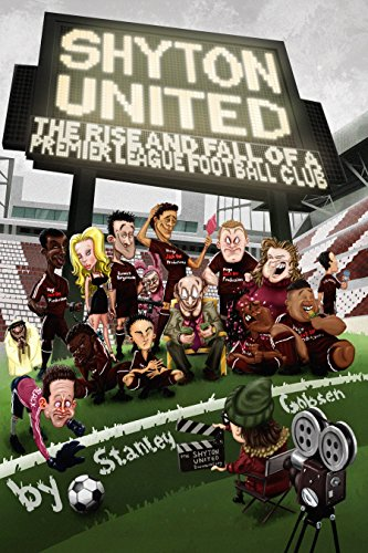 Cover art by Mihailo Tatic Premier League England Football Comic novel satire